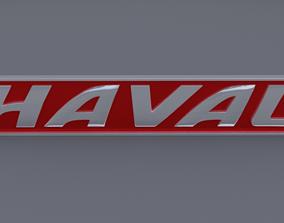 haval logo 3D