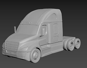 3D printable model Freightliner Cascadia on a small scale