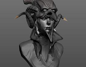 3D print model Witcher Female