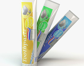 tube of toothpaste 3D model