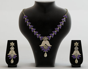 Atasi International Alloy Jewel Set jewellery 3D