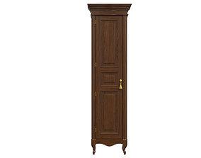 3D model classic cabinet 01 01