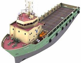 Platform Supply Vessel - 02 - 3D