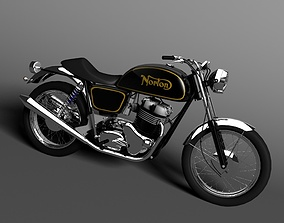3D Norton Commando 850