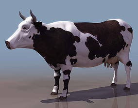 cow modal 3D