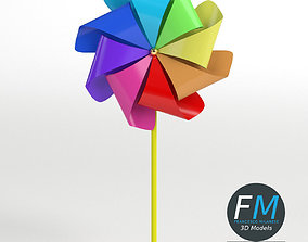 3D PBR Pinwheel
