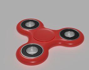 3D Fidget Spinner stress