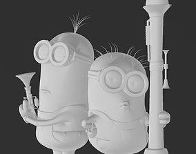 3D printable model Minions Rocket Launcher