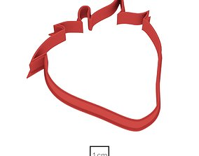 3D print model Strawberry cookie cutter for professional