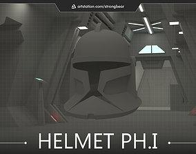 3D printable model other Clone trooper ph1 helmet