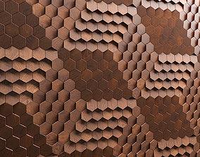 Hexagonal tile by Giles Miller 3D model