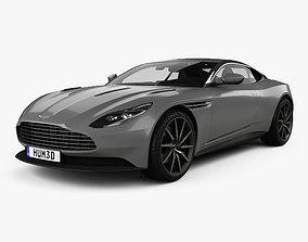 Aston Martin DB11 with HQ interior 2017 3D model