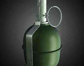 RGD 5 Frag grenade 3D model