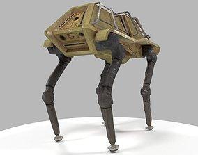 3D asset Robot dog