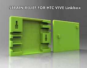 HTC VIVE Linkbox Strain relief 3D print model