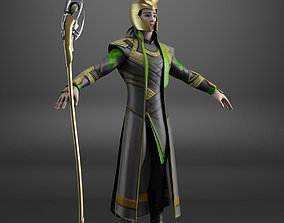 Loki The Avengers movie 3D model