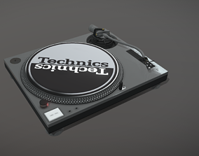 Technics MK2 Turntable 3D model