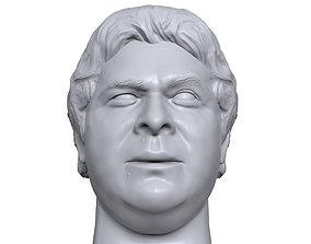 Dino Bravo 3D printable portrait sculpture