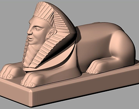 Western Sculpture Model Egypt Sphinx W063