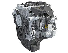 Diesel Engine 3D model truck