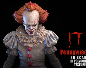 IT Pennywise 3D Scan