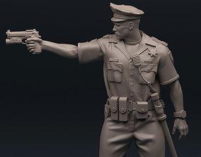 3D print model Policeman 75mm 120mm