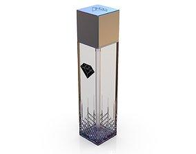 3D model Diamond cosmetics bottle - 42x42 mm - V - 180