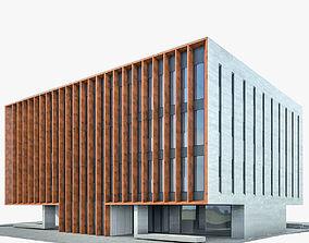 Office Building 05 3D asset