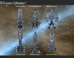 3D model 2D Cruiser Collection I