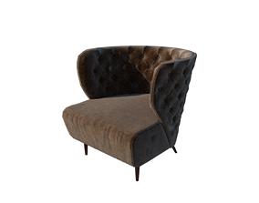 modern classic chair 3D model