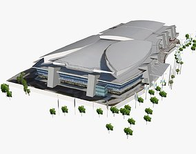 3D model Gold Coast Convention and Exhibition Centre