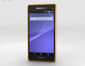 3D model Sony Xperia A2 SO-04F Yellow