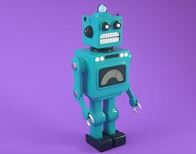 Vintage Toy Robot 3D PBR