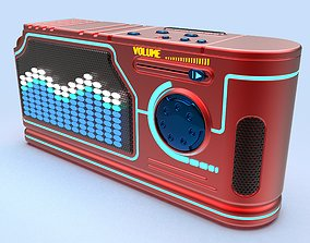Cyberpunk radio 3d model for printing
