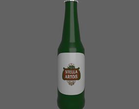 3D asset Stella beer