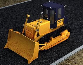 3D Bulldozers construction municipal vehicles domestic