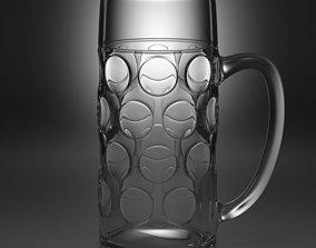 beer glass type1 3D