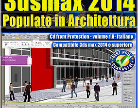 3dsmax 2014 Populate Architettura vol 1 animated 2
