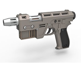 3D model Blaster Pistol Glie-44 from the movie Star Wars 3