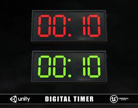 3D asset Digital Timer