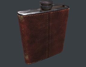 Old Flask v1 3D model low-poly
