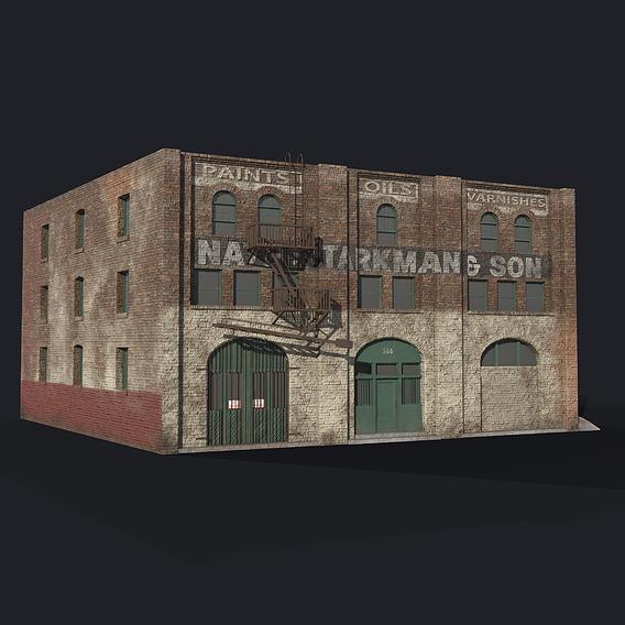 The Nate Starkman Building 3D