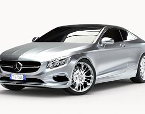 3D Mercedes-Benz S Class Coupe 2015