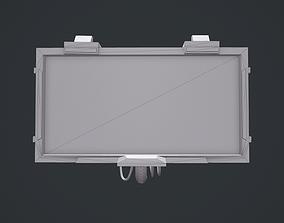 Sci-Fi Screen 3D model