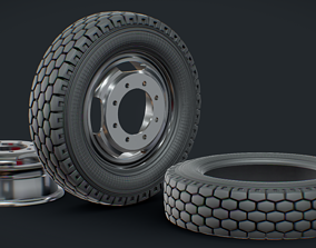 Zil Wheel All Modificators Turned For Fast Modeling in