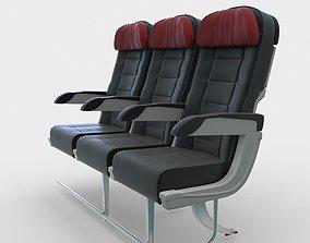 Airplane Seats seats 3D model
