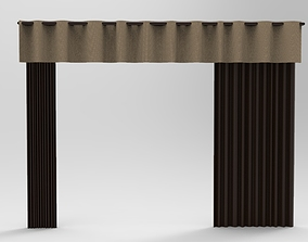 3D print model Curtain 10