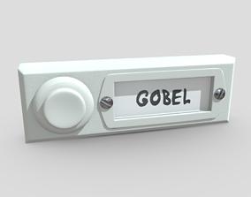 3D model Bell Button