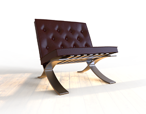BARCELONA Chair 3D printable model
