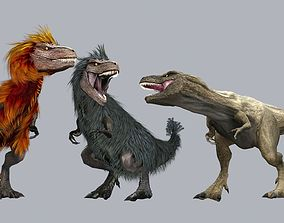 Feathered Tyrannosaurus 3D model
